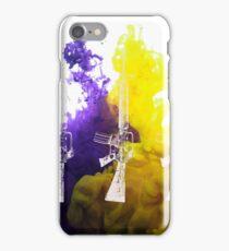 Proud Guns - Multi White Gamer iPhone Case/Skin