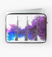 Proud Guns - Purple Gamer Laptop Sleeve
