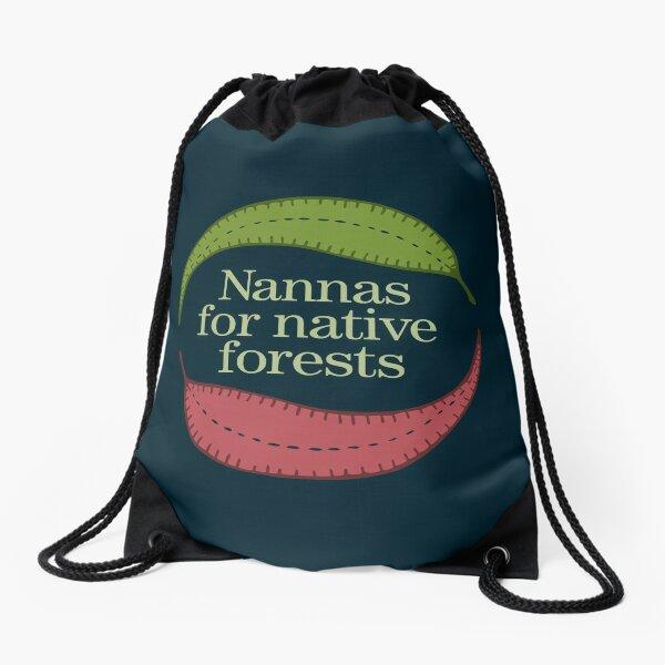Nannas für einheimische Wälder Turnbeutel