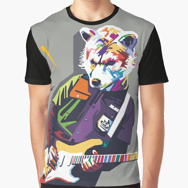 Man With a Mission Band Artwork Graphic T-Shirt