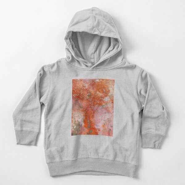 gold and orange Toddler Pullover Hoodie