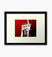 Splatoon - The Hunger Games Framed Print
