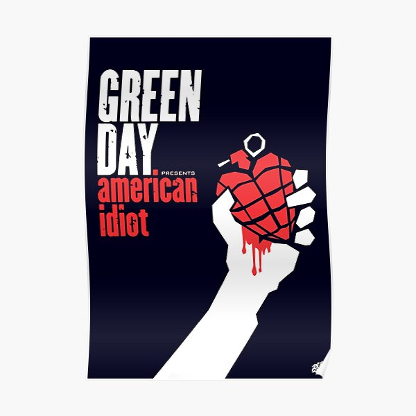 AMERICAN IDIOT , A3 size extended album cover Poster
