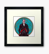 .12th Doctor. Framed Print
