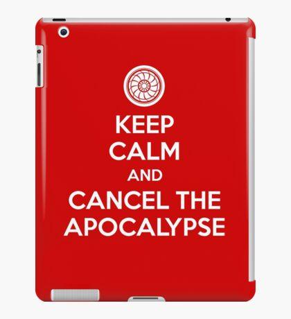Keep Calm and Cancel the Apocalypse iPad Case/Skin