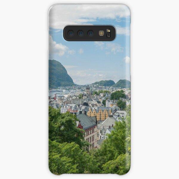 Ålesund in Norway in summer Samsung Galaxy Snap Case