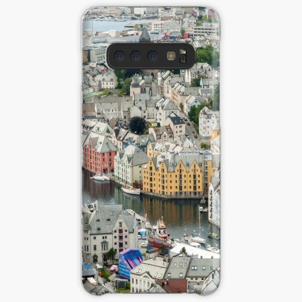 Town of Ålesund in Norway Samsung Galaxy Snap Case