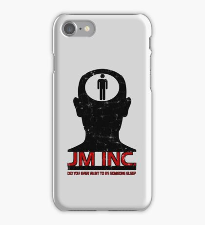 JM Inc. from Being John Malkovich iPhone Case/Skin