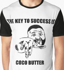 THE KEY TO SUCCESS IS COCO BUTTER Graphic T-Shirt