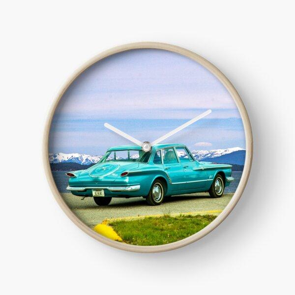 1961 Valiant at Flathead Lake Clock