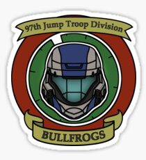 The Bullfrogs Insignia Sticker