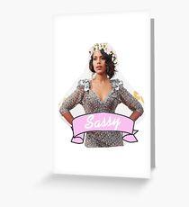 Sassy Kerry Greeting Card