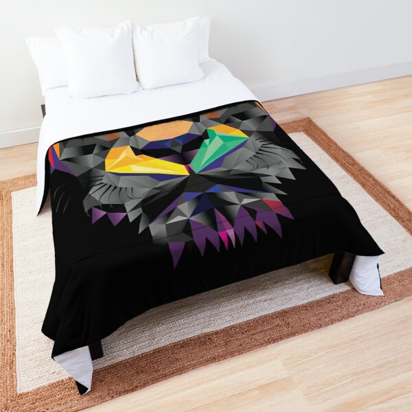 Futuristic Lion design Comforter