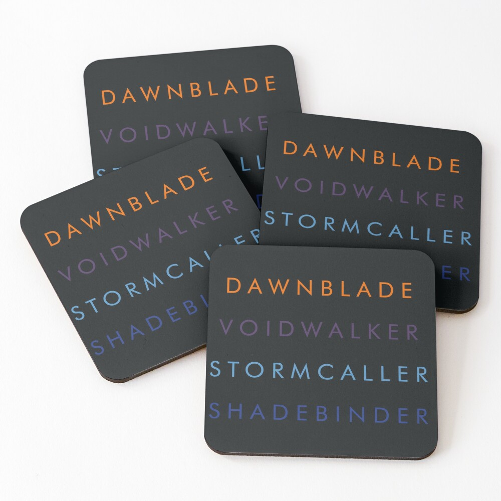 Warlocks  Coasters (Set of 4)