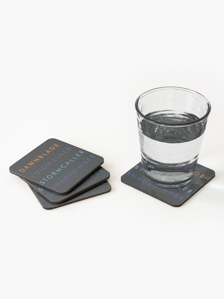 Alternate view of Warlocks  Coasters (Set of 4)