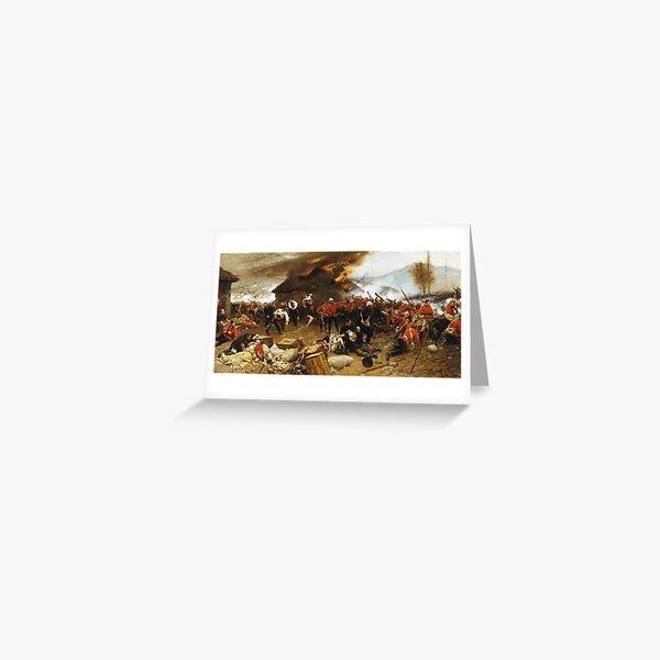 ZULU. Rorke's Drift. Greeting Card