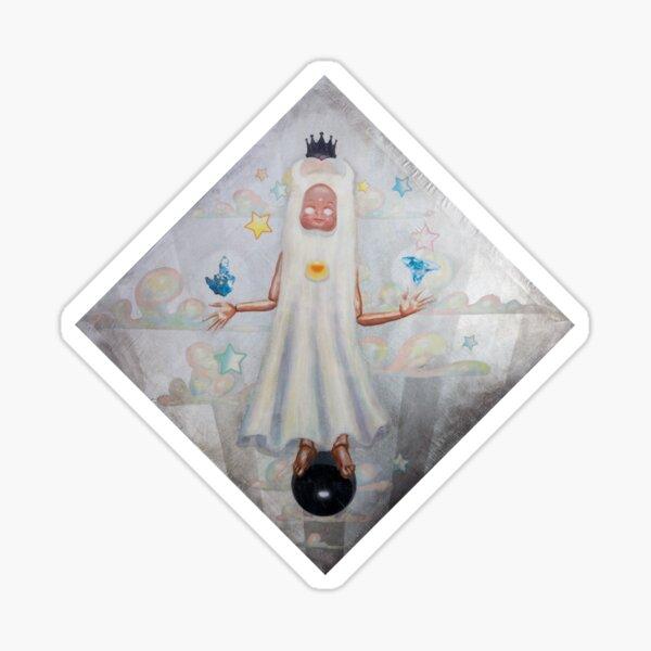 Ghost of Manifesting Sticker