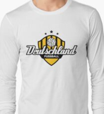 Football coat of arms of Germany Long Sleeve T-Shirt