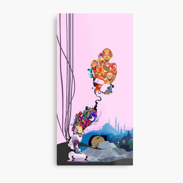 What do you want me to be? (hope during quarantine) Metal Print