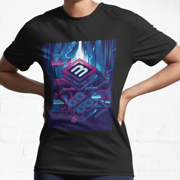 Crypto Mining Venture Active T-Shirt