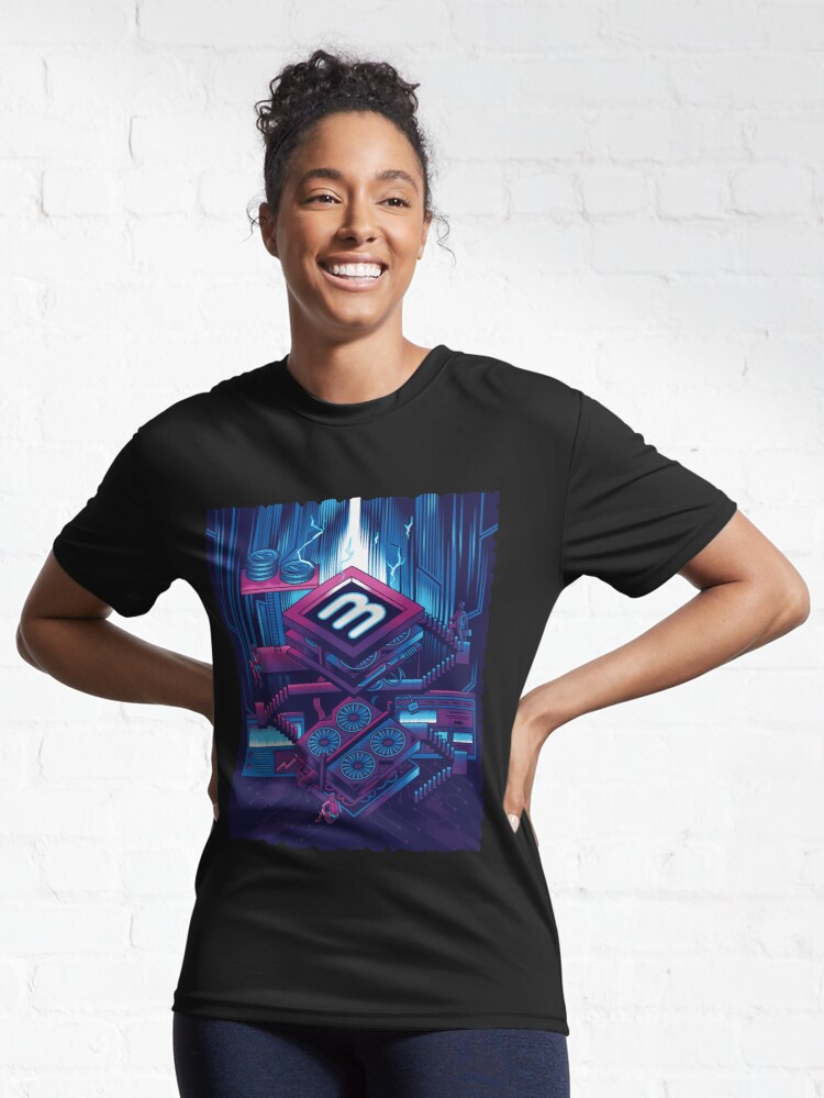 Alternate view of Crypto Mining Venture Active T-Shirt