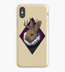 The Fancy Jackalope iPhone Case