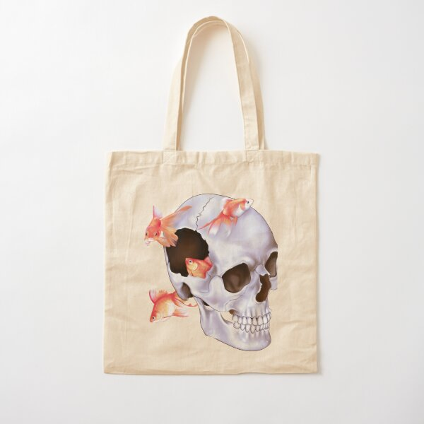 Swimming Thoughts Cotton Tote Bag