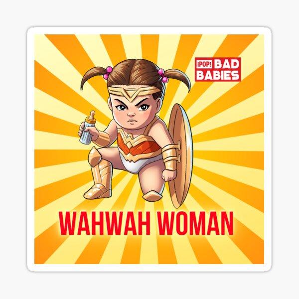 Wahwah Woman Sticker