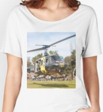 Huey Eagle One Helicopter Women's Relaxed Fit T-Shirt