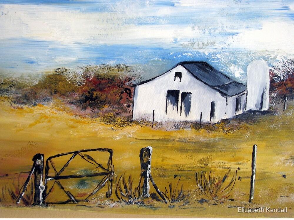 A farmhouse in the Karoo by Elizabeth Kendall