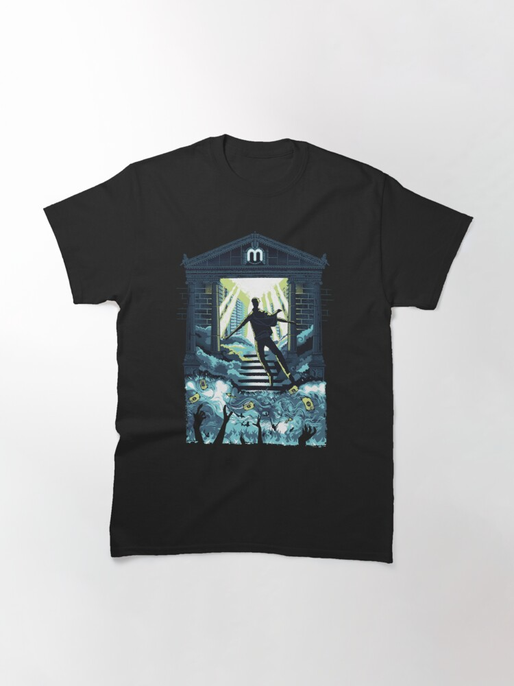 Alternate view of Crypto Mining Haven Classic T-Shirt