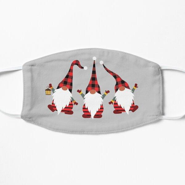 Christmas Gnomes Flat Mask