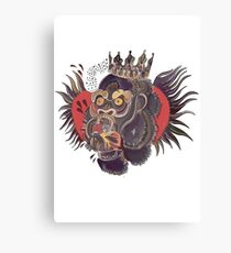 Conor Mcgregors Gorilla Tattoo Canvas Print