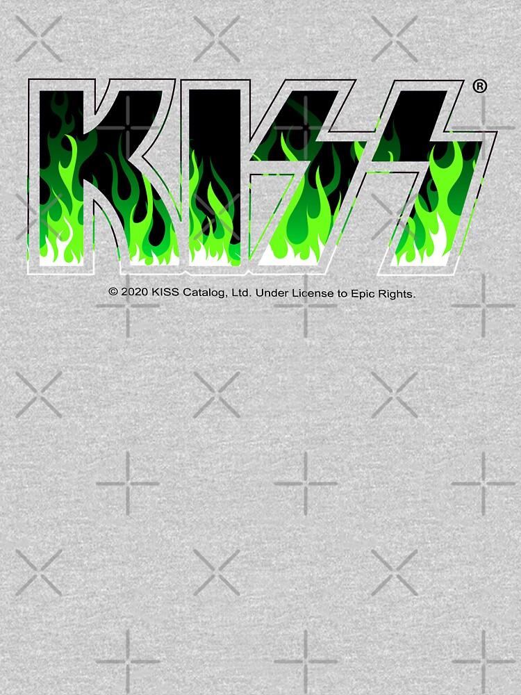 KISS Green Fire by JulianoZn97