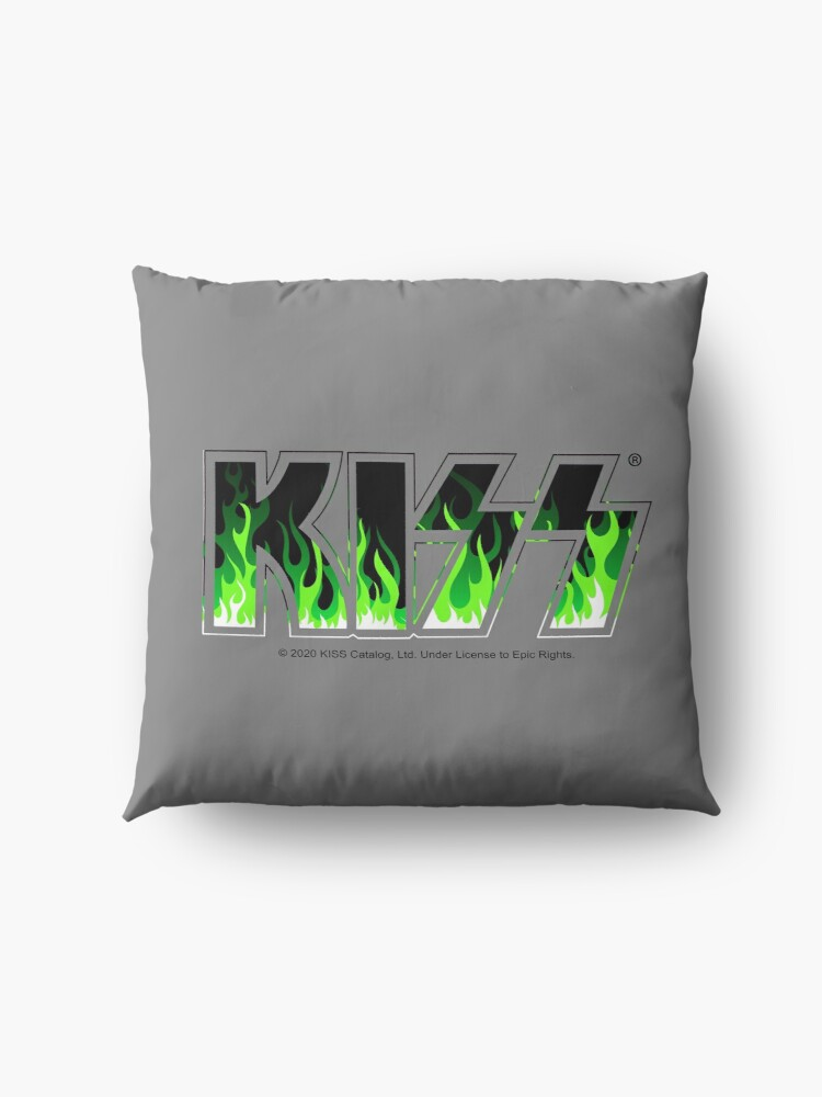 Alternate view of KISS Green Fire Floor Pillow