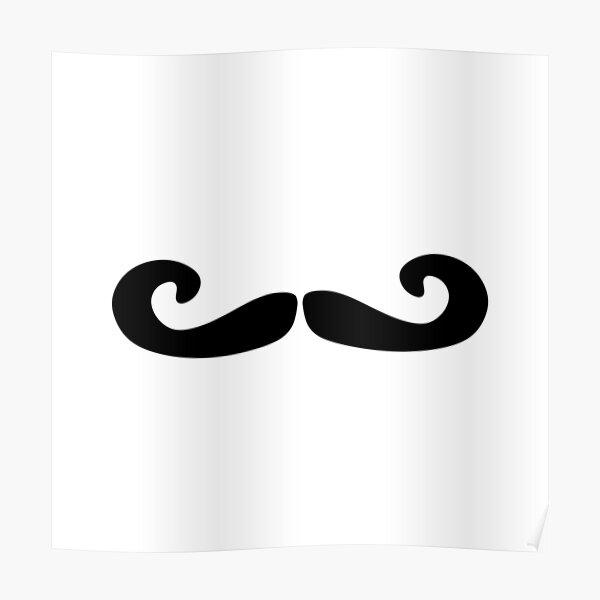 Mens Pirate or Frenchman French Man Fancy Dress Tash Moustache Black New w