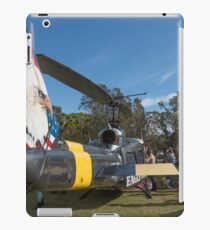 Huey Eagle One Helicopter  iPad Case/Skin