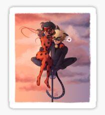 Ladynoir Sticker