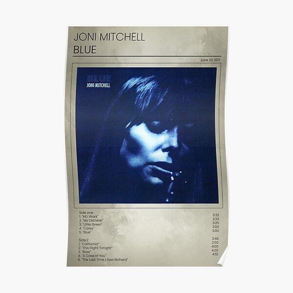 Joni Mitchell Blue  Poster
