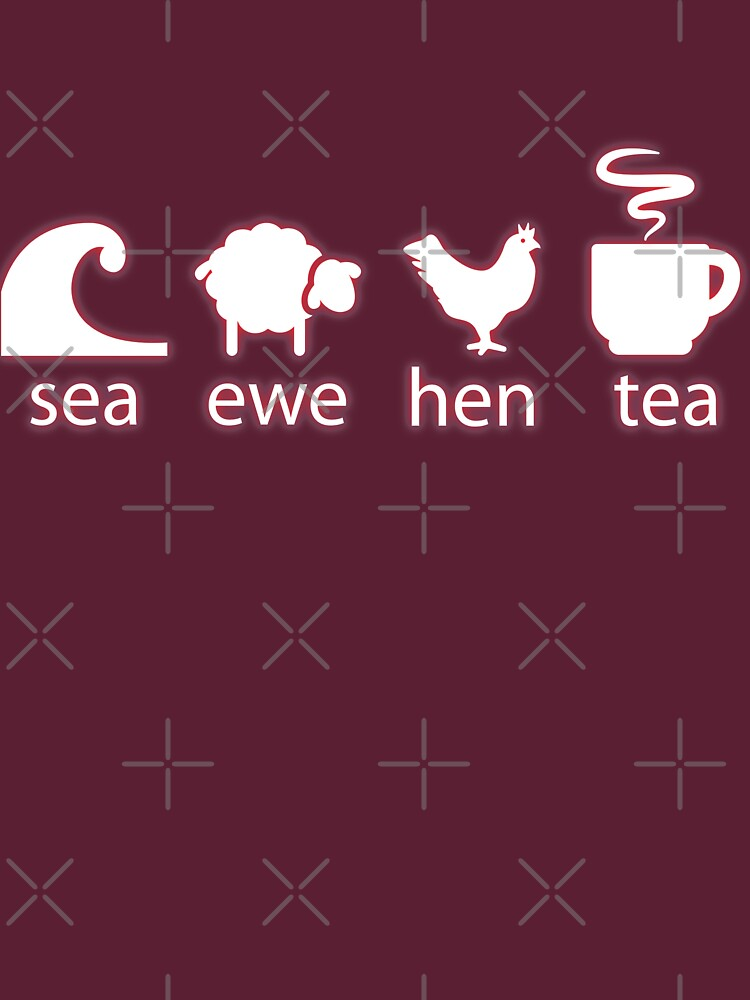 TShirtGifter presents: Sea Ewe Hen Tea | Unisex T-Shirt
