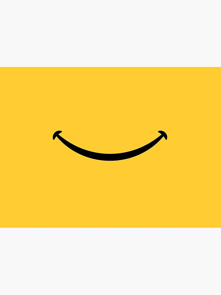 Happy Smile - Keep Smiling - Yellow Smiley Face by zawitees
