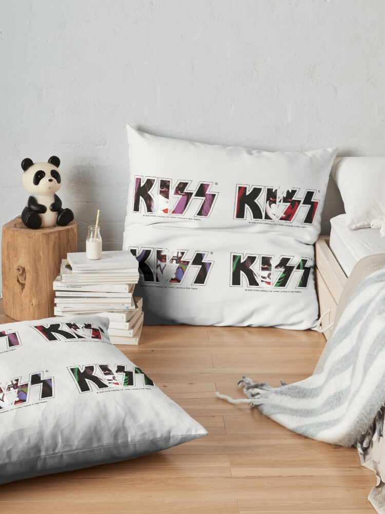 Alternate view of KISS Sticker Pack Floor Pillow