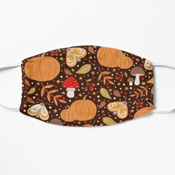Autumn elements Flat Mask