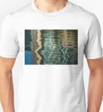 Mesmerizing Abstract Reflections Sixteen Unisex T-Shirt