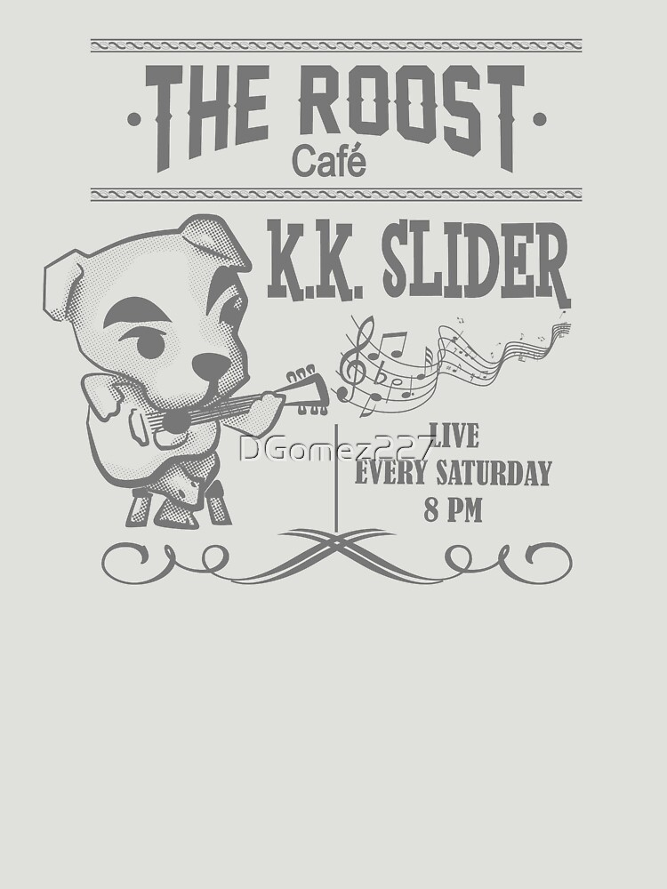 K.K. Slider Animal Crossing T-Shirt | Unisex T-Shirt