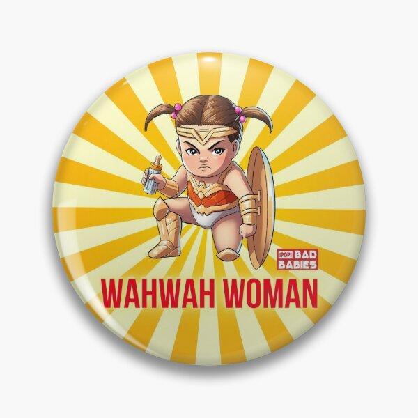 Wahwah Woman Pin