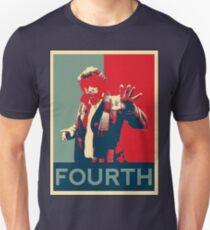 Fourth doctor - Fairey's style Unisex T-Shirt