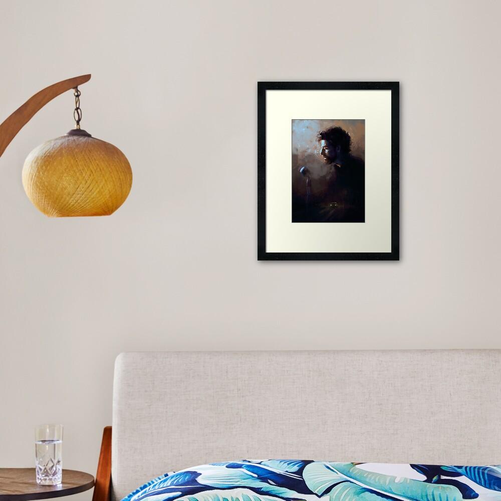 Llewyn Davis Framed Art Print