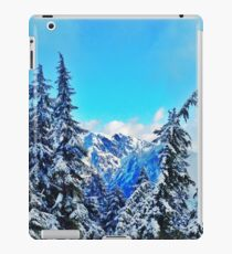 Blue Mountain Scene iPad Case/Skin