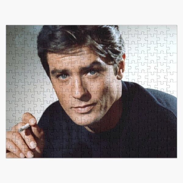 Alain Delon with Cigarette  Jigsaw Puzzle